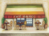Cafe Maurice Prints by  Urpina