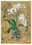 Flores Blancas I Print by A. Vega