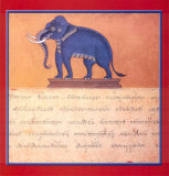 The Auspicious Elephant IV Art by Ping Chettabok