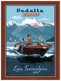 Vedette Rapide, Lacs Transalpins Art by Bruno Pozzo