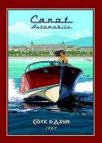 Vedette Rapide, Cote d'Azur Art by Bruno Pozzo