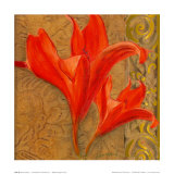 Stone Lilies Posters by  Courtland