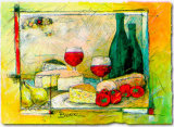 Cheese Poster by F. Bohl