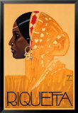 Riquetta Posters by Ludwig Hohlwein