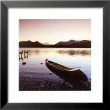 Lake Shore IV Print by Chris Simpson