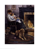 Bedtime Story Print by Alan Sakhavarz