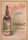 Tom Bill's Rum Poster