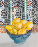Citrons Jaunes Prints by Frederic Givelet