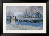 Magpie Art by Claude Monet