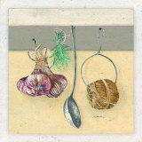 Dans la Cuisine, la Ficelle Prints by Laurence David