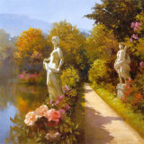 Water Garden I Prints by Spartaco Lombardo