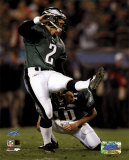 David Akers - Super Bowl XXXIX - Kicks An Extra Point Photo