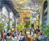 Luncheon at Musee d&#39;Orsay Prints by Michael Leu