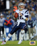 Tom Brady : XXXIXe Super Bowl, passe dans le premier quart temps Photographie