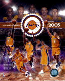 2004 - 2005 Lakers Composite Photo