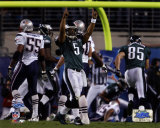 Donovan McNabb - Super Bowl XXXIX - Celebrates 7 Yard Touchdown Pass Photo