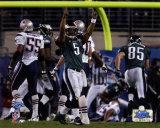Donovan McNabb - Super Bowl XXXIX - Celebrates 7 Yard Touchdown Pass Photo