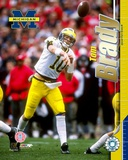 Tom Brady - University of Michigan - Passing Photo
