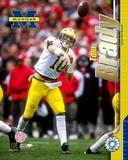 Tom Brady - University of Michigan - Passing Photo