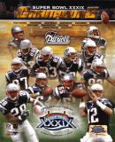 Patriots Super Bowl XXXIX Champions Composite Photo