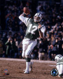Joe Namath - Passing Action Photo