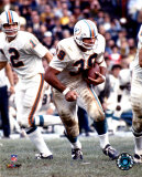 Larry Csonka - Rushing With Ball Photo