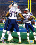 Givens & Branch - Super Bowl  XXXIX - Celebrate 4 Yard 2rd Quartrer Touch Down Photo