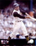 Roberto Clemente - Batting Action Photo