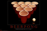 Bi&#232;re Pong Posters