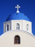 Close-Up View of a Greek Orthodox Church Photographic Print by Bob Jacobson