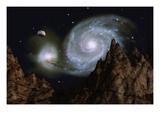 Whirlpool Galaxy Giclee Print by Clark Dunbar