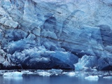 Ice Breaking off Glacier Photographic Print by Mick Roessler