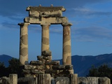 Temple of Tholos in the Sanctuary of Athena Photographic Print by Jim Zuckerman
