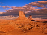 The Mittens at Monument Valley Photographic Print by Robert Glusic