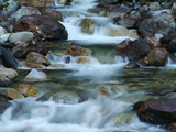 Rocky Stream Photographic Print by Cindy Kassab
