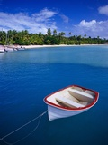 Dinghy in Shallow Water Photographic Print by Scott Gibson