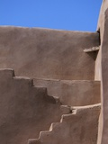 Steps at Coptic Monastery Photographie par Ron Watts
