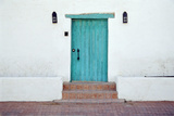 Turquoise Door Photographic Print by Richard Cummins