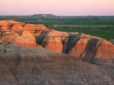 Bloom Basin Badlands in Buffalo Gap National Grassland Photographic Print by Tom Bean