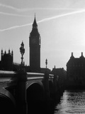 View of Big Ben from Across the Westminster Bridge Lmina fotogrfica por Jack Hollingsworth