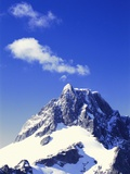 Snow Covered Mountain Peak Photographic Print by Robert Landau