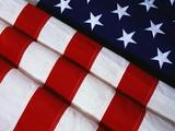Folded American Flag Photographic Print by Joseph Sohm