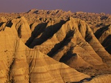 Badlands at Sunset Photographic Print by Joseph Sohm