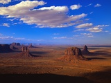 Aerial View of Monument Valley Photographic Print by Joseph Sohm