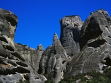 Rock Towers of Meteora Photographic Print by Perry Mastrovito