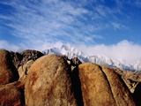 Rocky Landscape and Mountains Photographic Print by Jim Zuckerman