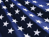 Stars on American Flag Photographic Print by Joseph Sohm