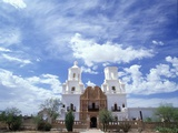 San Xavier del Bac Mission Photographic Print by Jim Zuckerman
