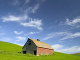 Old Barn in Wheat Field in Eastern Washington Photographic Print by Darrell Gulin