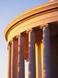 Columns of Jefferson Memorial Photographic Print by Joseph Sohm